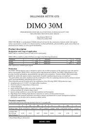 DIMO 30M - Dillinger Hütte GTS