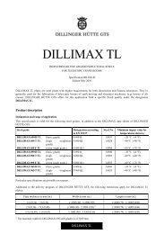 Dillimax tl-e- 05-01 - Dillinger Hütte GTS