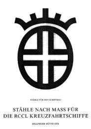 Stähle nach Mass für die RCCL Kreuzfahrtschiffe - Dillinger Hütte GTS
