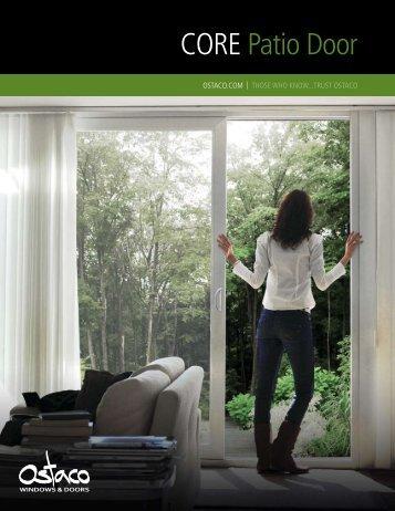 Ostaco Core Patio Door - Lambden Window and Door