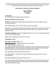 Regular Meeting July 10, 2012 7:00 PM Call to Order ... - Streetsboro