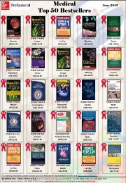 Medical Top 50 Bestsellers - McGraw-Hill Books