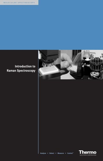 Introduction to Raman Spectroscopy - Nicolet CZ sro