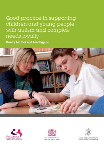 Good practice in supporting children and young people with autism ...