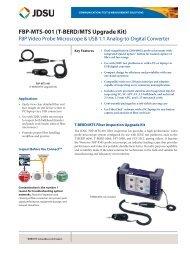 FBP-MTS-001 (T-BERD/MTS Upgrade Kit) - EN4TEL