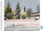 Weihnachtliche Dankesgrüße aus dem Kinderdorf in Ellwangen