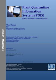 Operational Guidelines for Exporters and Importers - PQIS