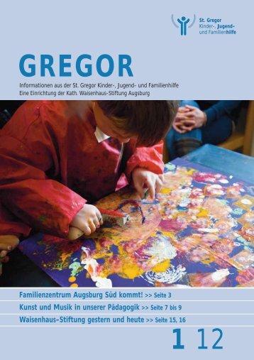 Familienzentrum Augsburg Süd kommt! - St. Gregor Jugendhilfe