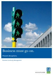 BS 25999 Brochure (pdf) - DNV Business Assurance
