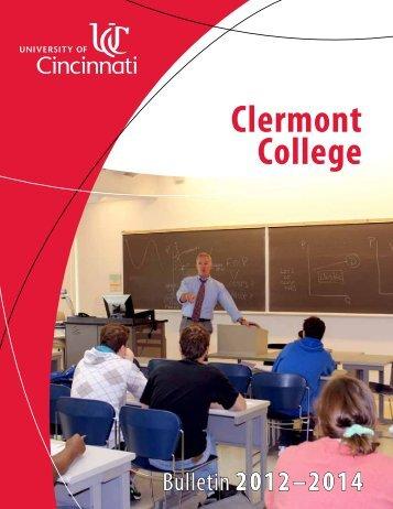 Clermont College - University of Cincinnati