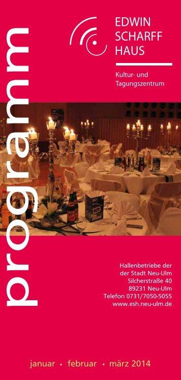 Programm Januar-März 2014 - Stadt Neu-Ulm