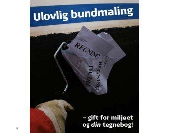 Kampagne imod ulovlig bundmaling - Onsevighavn