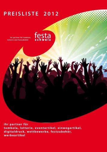 PREISLISTE 2012