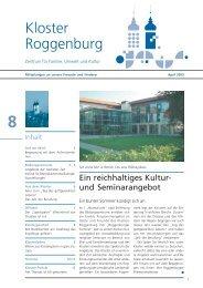 Buch-Tipp: Kloster-ABC - Kloster Roggenburg