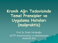 Prof. Dr. Dilek YÖRÜKOĞLU - tahudegitsel.org