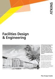 Facilities Design & Engineering - Atkins