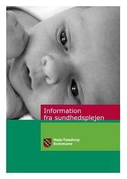 Information fra sundhedsplejen - Høje-Taastrup Kommune