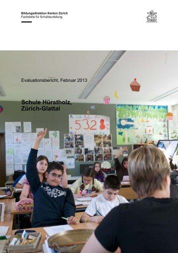 Bericht Hürstholz (PDF, 55 Seiten, 1 MB) - Stadt Zürich