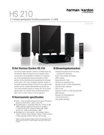 Harman kardon hs 100 manual download