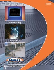 Design & Engineering Manufacturing Installation Pathology - Mopec