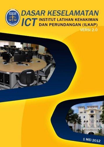 Dasar Keselamatan ICT ILKAP - Institut Latihan Kehakiman Dan ...