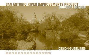 concept design san antonio river improvements project