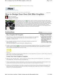 How to Design Your Own Dirt Bike Graphics - Independent Streak ...