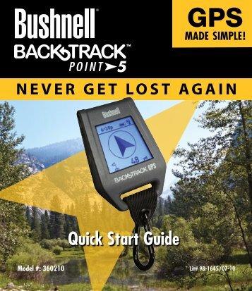5 Quick Start Guide - Bushnell Europe