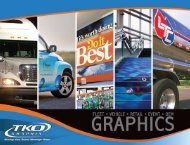 Fleet & vehicle graphics - TKO Graphix