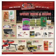 hurry, prices good sept. 28th - Del's - Feed And Farm Supply