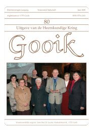 Nummer 80.qxd - Heemkundige Kring van Gooik