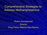 Comprehensive Strategies to Address Methamphetamine