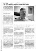 Syndrom nr 1 - 2007.indd - Arbeidsmiljøskaddes landsforening - Page 6