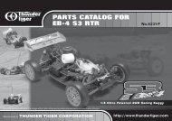 eb-4 s3 rtr spare parts list - Carrocar