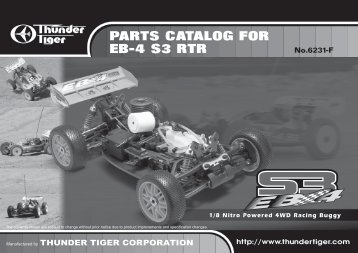 eb-4 s3 rtr spare parts list - Carrocar