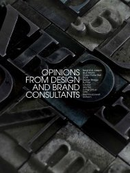 OPINIONS FROM DESIGN AND BRAND ... - Lisa Tse Ltd