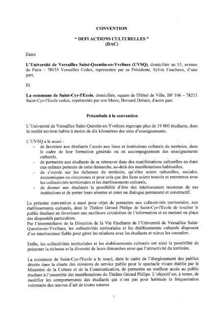 Université de Versailles Saint-Quentin-en-Yvelines (UVSQ), domiciliée