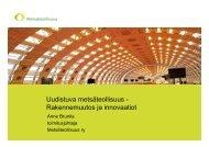 Uudistuva metsäteollisuus - Rakennemuutos ja innovaatiot