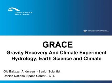 Gravity Recovery And Climate Experiment Hydrology, Earth Science ...