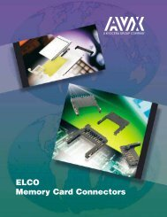 ELCO Memory Card Connectors