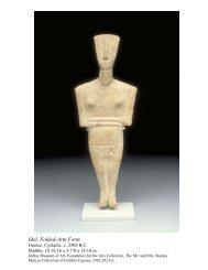 Idol, Folded-Arm Form