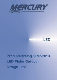 LED Produktkatalog LED-Fluter Outdoor Design Line ... - Photolight
