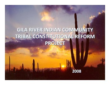 here - Gila River Indian Community