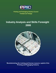 Industry Analysis and Skills Foresight 2008 - Print and Packaging ...