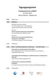 Tagungsprogramm - e7 - Energie Markt Analyse