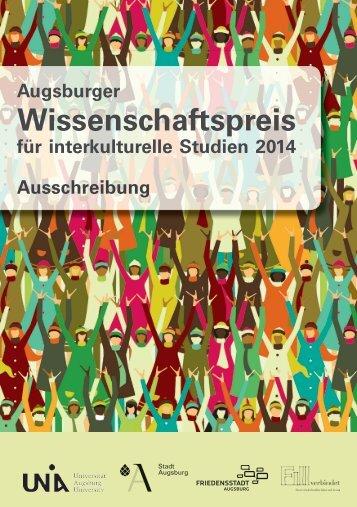 Ausschreibung - Universität Augsburg