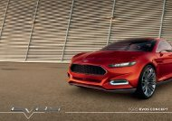 Download Brochure - Ford EVOS Concept