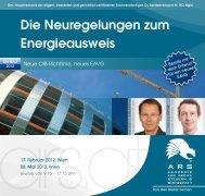 Die Neuregelungen zum Energieausweis - e7 - Energie Markt Analyse