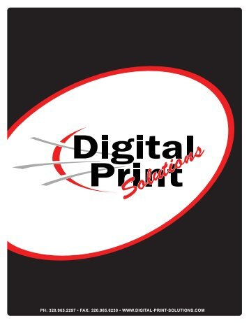 320.965.2297 • Fax - Digital Print Solutions