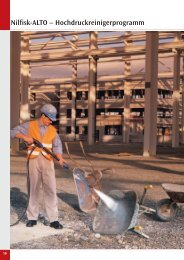 Nilfisk-ALTO – Hochdruckreinigerprogramm